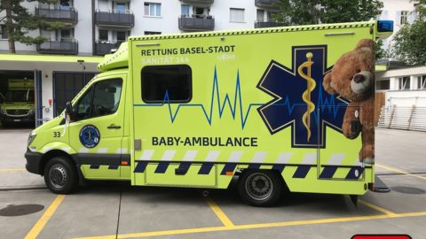 Baby-Ambulance in Basel als mobile Neugeborenen-Intensivstation
